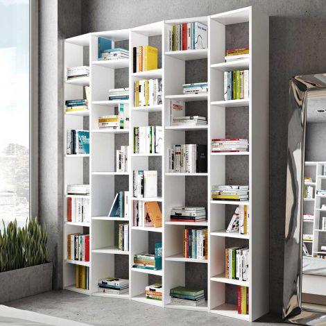 Bibliothèque Varna modèle 4 - blanc