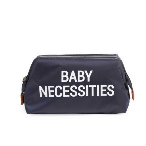 Trousse de toilette Baby Necessities - bleu/blanc