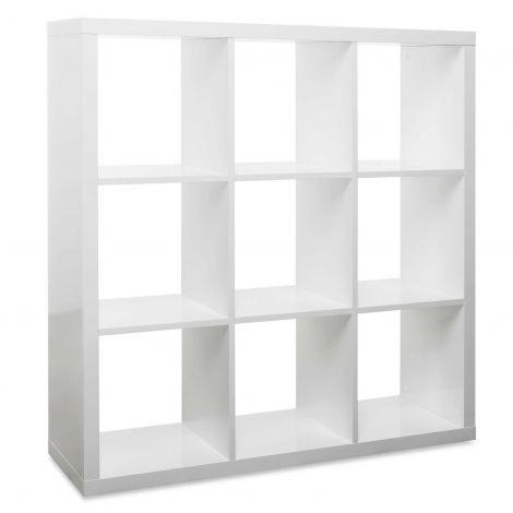 Cube de rangement Milano 9 niches