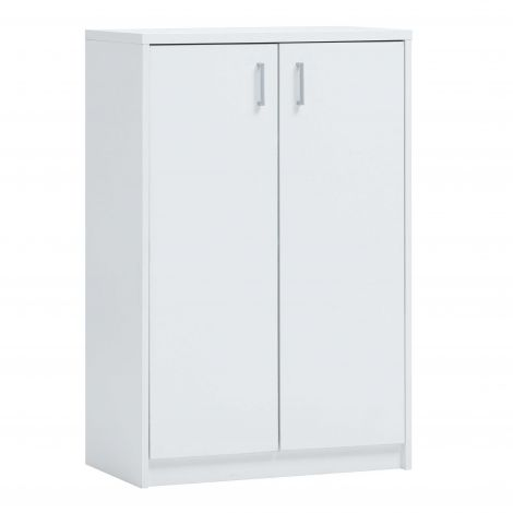 Commode Spacio 2 portes H 110cm - blanc