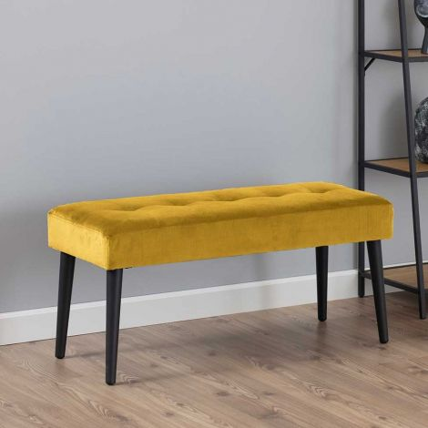 Banc Gloria - jaune/noir