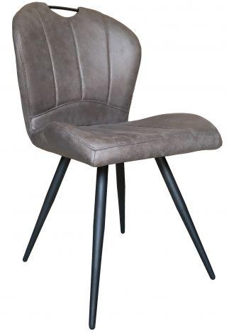 Lot de 2 chaises Don - gris
