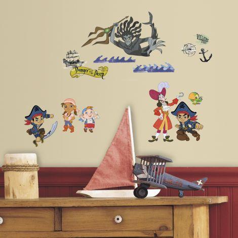RoomMates stickers muraux - Jake et les Pirates du Pays imaginaire