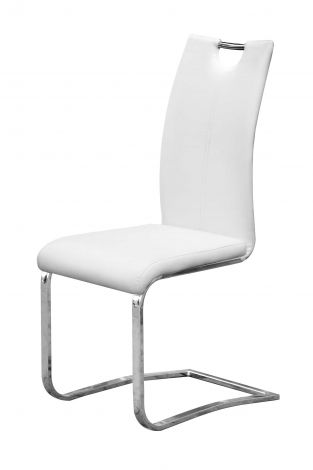 Lot de 2 chaises Sofia - blanc