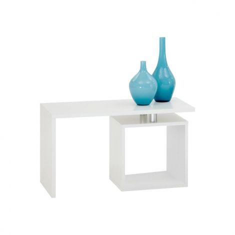 Table de salon Klara - blanc