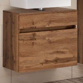 Meuble sous lavabo Brama 60cm 1 tiroir - chêne wotan