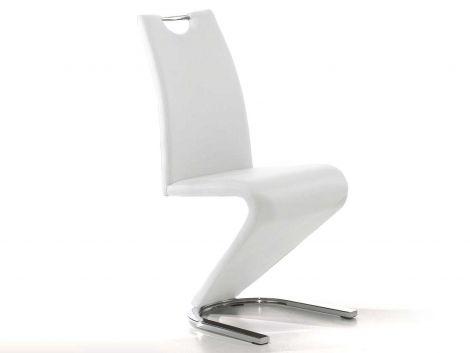 Lot de 2 chaises Lineo - blanc