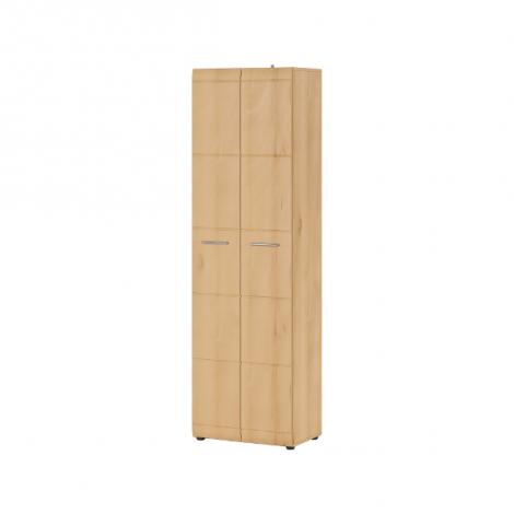 Garderobe Allan 59cm avec 2 portes - hêtre