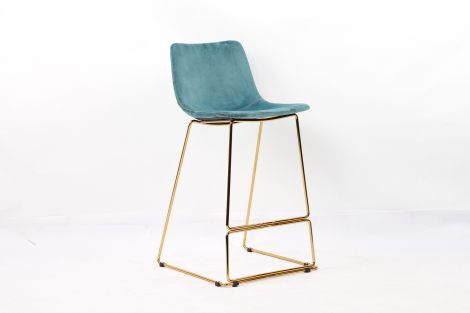 Lot de 2 chaises de bar Agadir - bleu