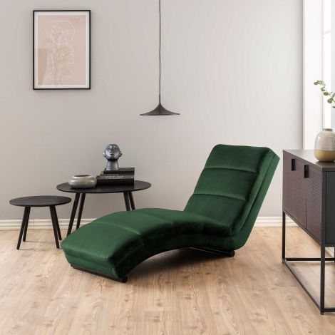Chaise longue Slick - vert forêt