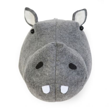 Hippopotame en feutre