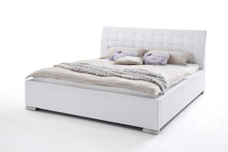 Lit Isa Confort 180x200cm - blanc