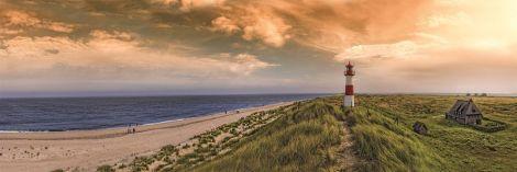 Toile Phare Dunes 50x100cm