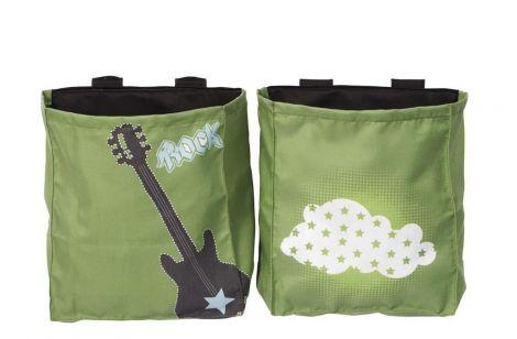 2 pochettes de rangement Milan - Rock