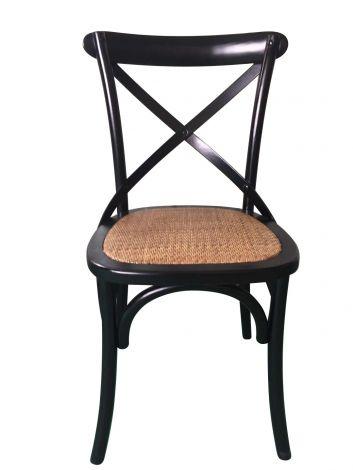 Lot de 2 chaises Erdo - noir