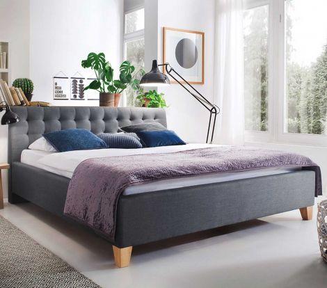Lit Camille 180x200 - gris
