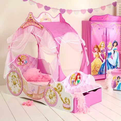 Lit carrosse pour tout-petit Princesses Disney