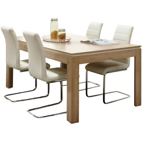 Table à manger extensible Maxim - 185>225>265cm