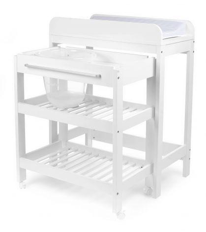 Table à langer Tommy - baignoire intégrée
