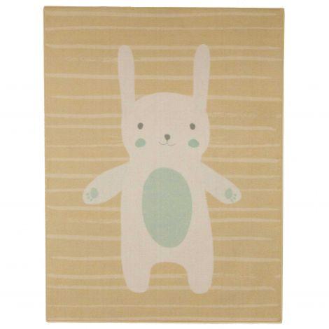 Tapis enfant Bunny - beige
