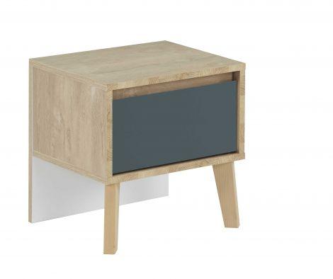 Table de chevet Lina - bleu