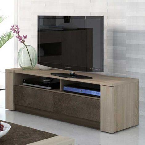 Meuble tv Ares 154cm - brun