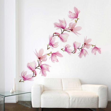 Sticker mural géant Magnolia