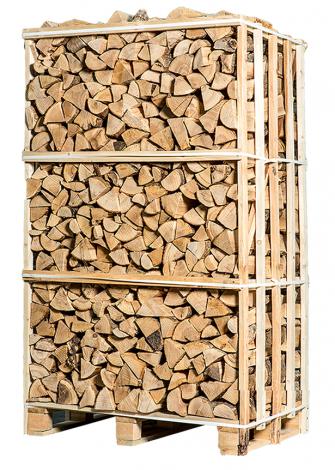 Bois de chauffage séché au four - frêne 1,8m³