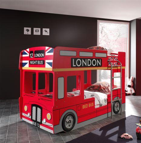 Lit superposé bus londonien
