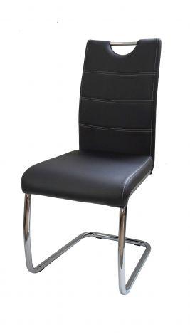 Set de 4 chaises cantilever Elite