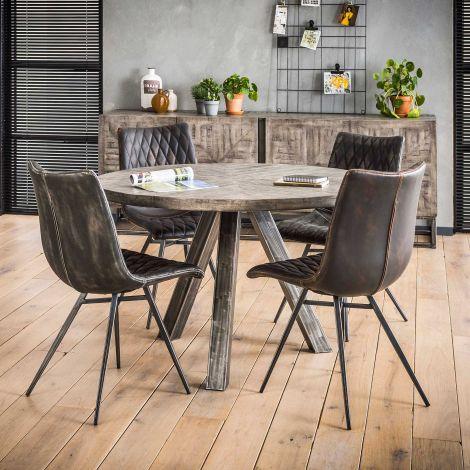 Table à manger Emma - ø120 cm