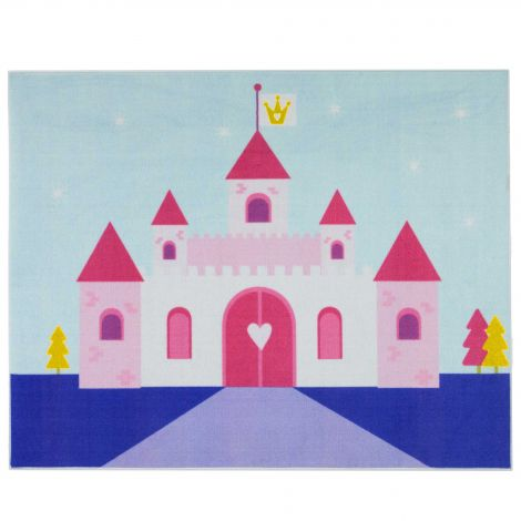 Tapis enfant Little Princess Castle