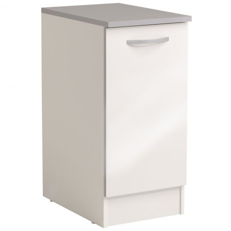 Meuble bas Spott 40x60 cm avec porte - glossy white