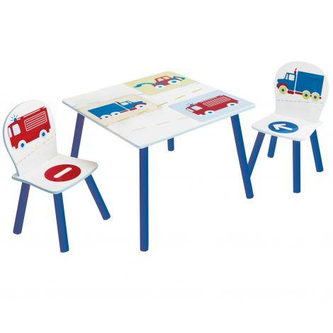 Table et chaises d'enfant Vehicles