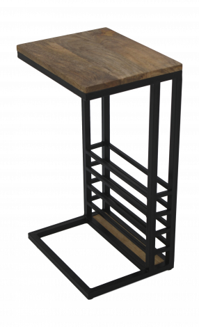 Table d'appoint - mango wood / iron
