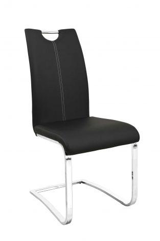 Lot de 2 chaises Sofia - noir