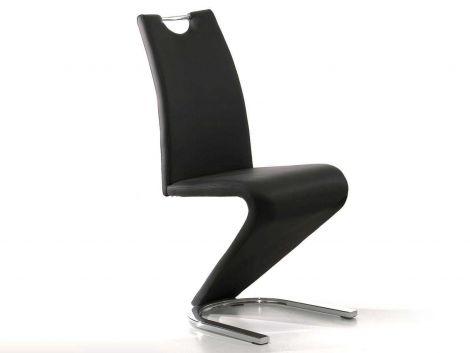 Lot de 2 chaises Lineo - noir