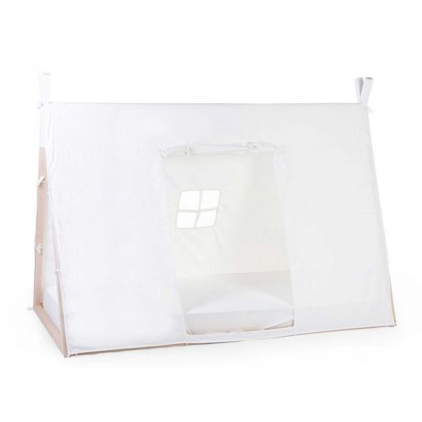 Toile pour lit tipi pour enfants 90x200 - blanc