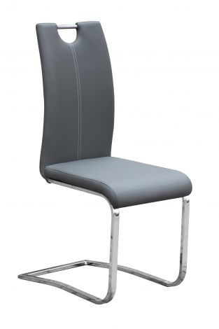 Lot de 4 chaises Sofia - gris