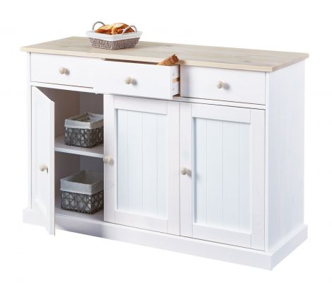 Bahut Flens 3 tiroirs & 3 portes