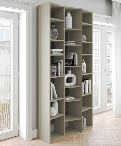Bibliothèque Varna modèle 7 - gris