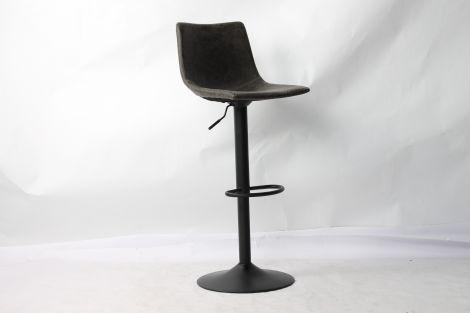Lot de 2 chaises de bar réglables Fontana - gris
