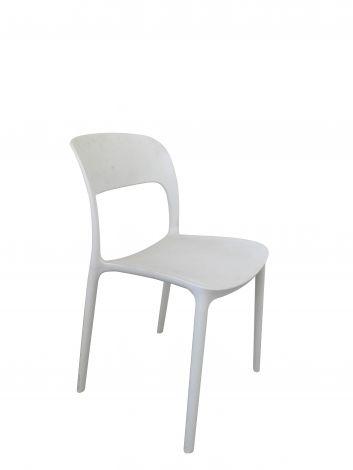 Lot de 4 chaises Carla - blanc