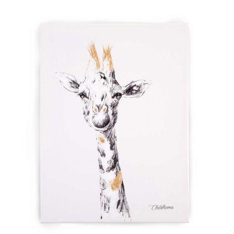 Tableau girafe 30x40cm