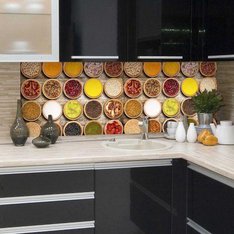 Sticker mural Spices revêtement mural pour cuisine