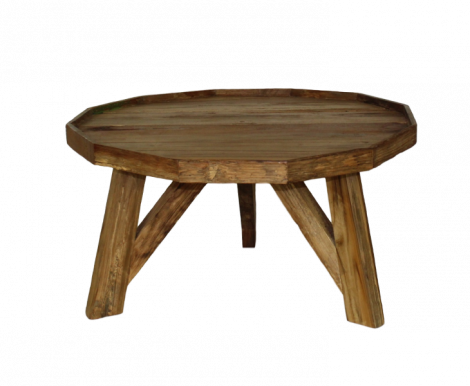 Table basse Diamond - moyenne - cire naturelle - teck