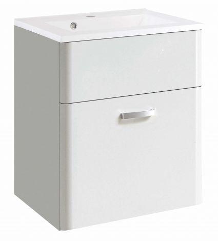 Meuble lavabo Phoenix 60cm - blanc