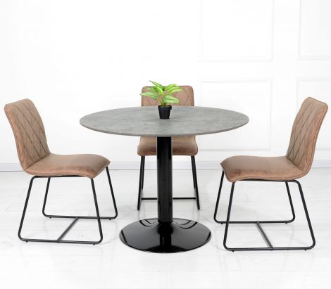 Table à manger Josua Ø105