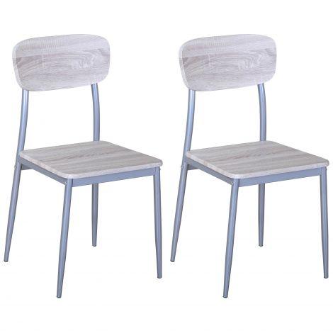 Jeu de 2 chaises Toulouse