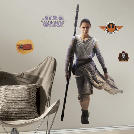 RoomMates stickers muraux - Star Wars VII Rey